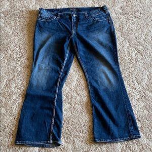 Silver size jeans plus size 22 / length 30